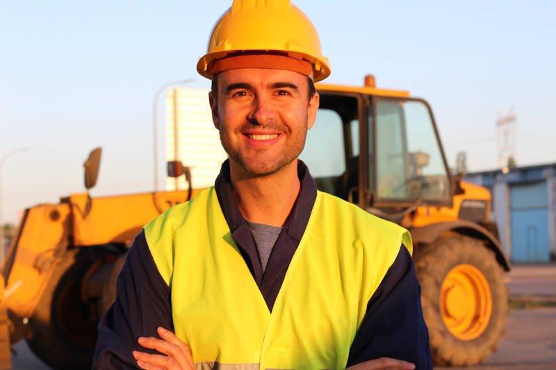 Heavy Equipment Operator at work